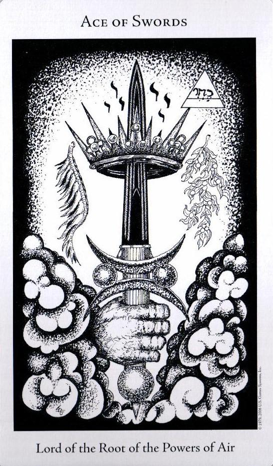 Туз Мечей The Hermetic Tarot