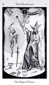 1 Аркан Маг The Hermetic Tarot