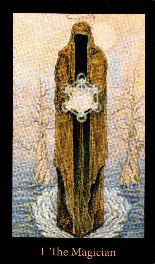 1 Аркан Маг The Mary-el Tarot
