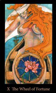10 Аркан Колесо Фортуны The Mary-el Tarot