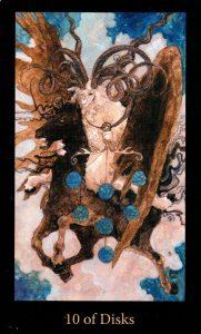 10 Дисков The Mary-el Tarot