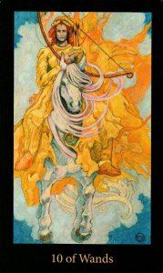 10 Жезлов The Mary-el Tarot