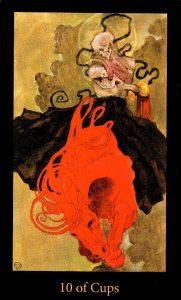 10 Кубков The Mary-el Tarot