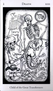 13 Аркан Смерть The Hermetic Tarot