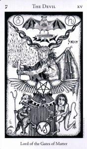 15 Аркан Дьявол The Hermetic Tarot