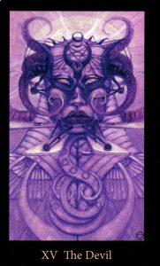 15 Аркан Дьявол The Mary-el Tarot
