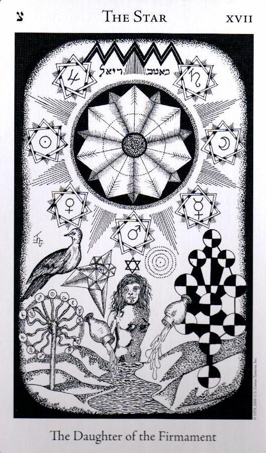 17 Аркан Звезда The Hermetic Tarot