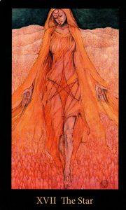 17 Аркан Звезда The Mary-el Tarot
