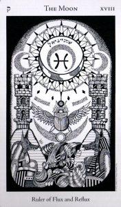 18 Аркан Луна The Hermetic Tarot