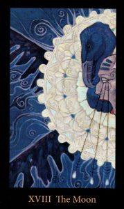 18 Аркан Луна The Mary-el Tarot