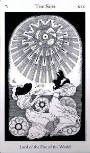 19 Аркан Солнце The Hermetic Tarot