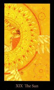 19 Аркан Солнце The Mary-el Tarot