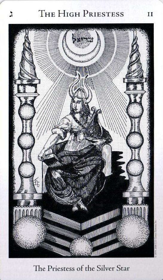 2 Аркан Верховная Жрица The Hermetic Tarot