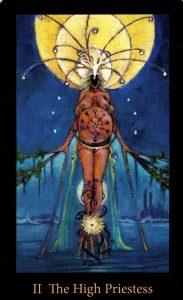 2 Аркан Жрица The Mary-el Tarot