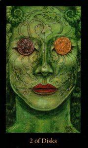 2 Дисков The Mary-el Tarot