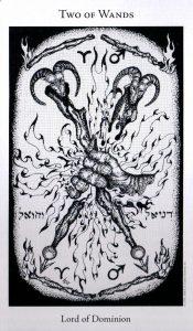 2 Жезлов The Hermetic Tarot