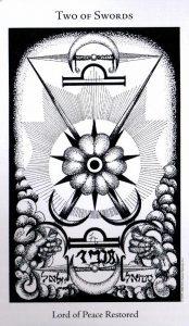 2 Мечей The Hermetic Tarot