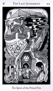 20 Аркан Последний Суд The Hermetic Tarot