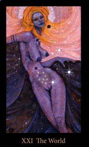 21 Аркан Мир The Mary-el Tarot