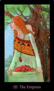 3 Аркан Императрица The Mary-el Tarot