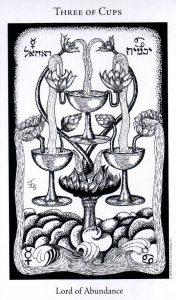 3 Кубков The Hermetic Tarot