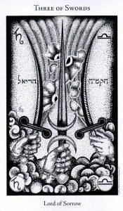 3 Мечей The Hermetic Tarot