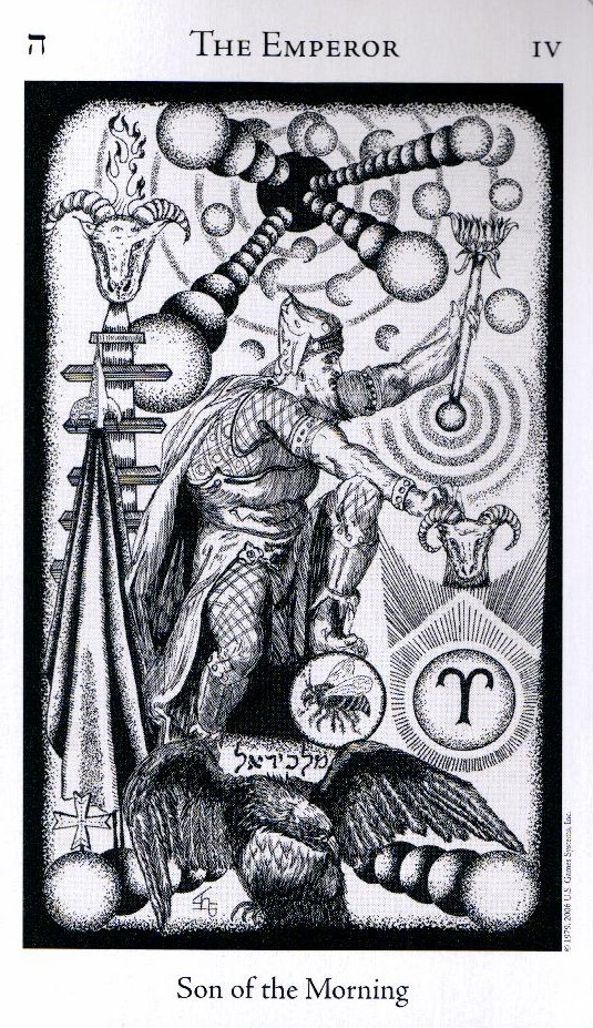 4 Аркан Император The Hermetic Tarot