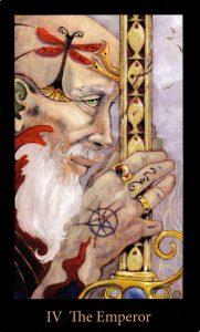 4 Аркан Император The Mary-el Tarot