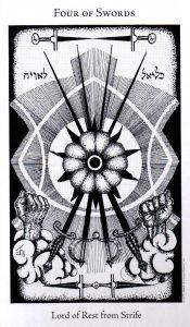 4 Мечей The Hermetic Tarot