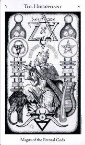 5 Аркан Иерофант The Hermetic Tarot