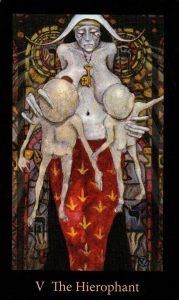 5 Аркан Иерофант The Mary-el Tarot