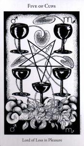 5 Кубков The Hermetic Tarot