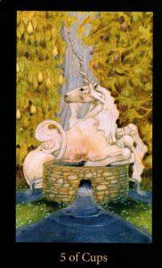 5 Кубков The Mary-el Tarot