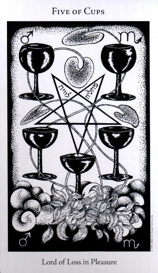 5 Кубков The Hermetic Tarot