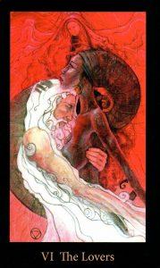 6 Аркан Влюбленные The Mary-el Tarot