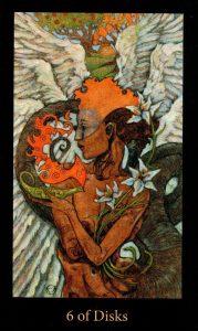 6 Дисков The Mary-el Tarot