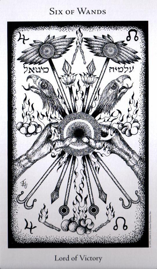 6 Жезлов The Hermetic Tarot