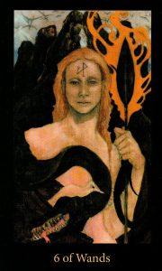 6 Жезлов The Mary-el Tarot
