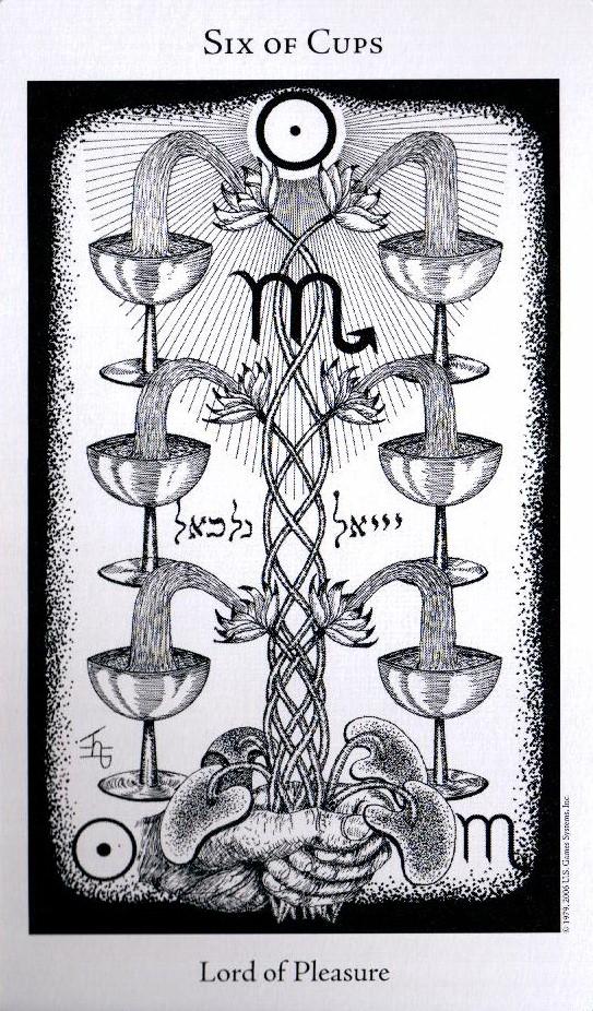 6 Кубков The Hermetic Tarot