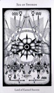 6 Мечей The Hermetic Tarot