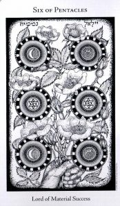 6 Пентаклей The Hermetic Tarot