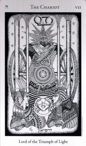 7 Аркан Колесница The Hermetic Tarot
