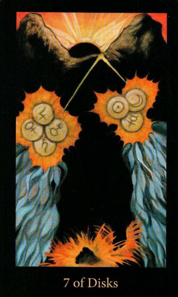7 Дисков The Mary-el Tarot