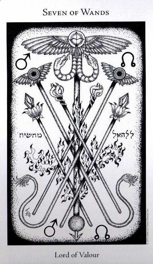 7 Жезлов The Hermetic Tarot
