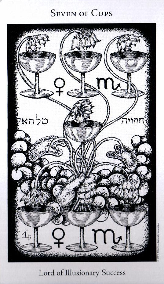 7 Кубков The Hermetic Tarot