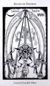 7 Мечей The Hermetic Tarot