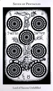 7 Пентаклей The Hermetic Tarot