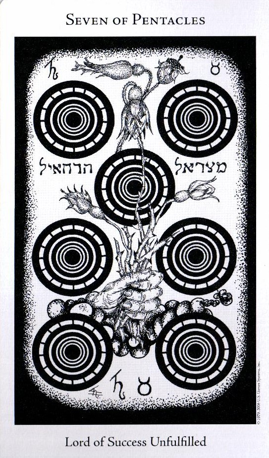 7 Пентаклей The Hermetic Tarot