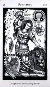 8 Аркан Сила Духа The Hermetic Tarot
