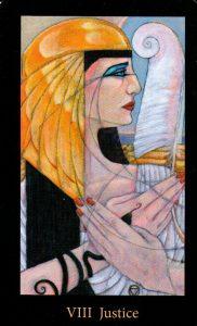 8 Аркан Справедливость The Mary-el Tarot